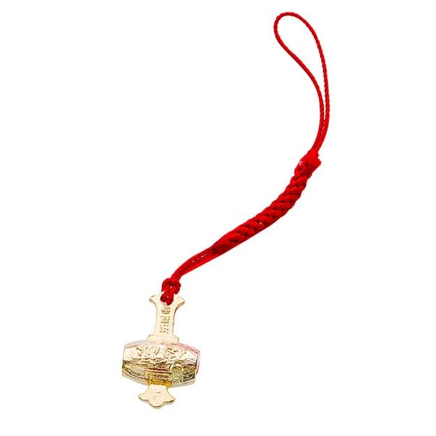 Product Detail - ASAKUSA TEMPLE amulet Fulu Hammer Lucky Pendant - image 0