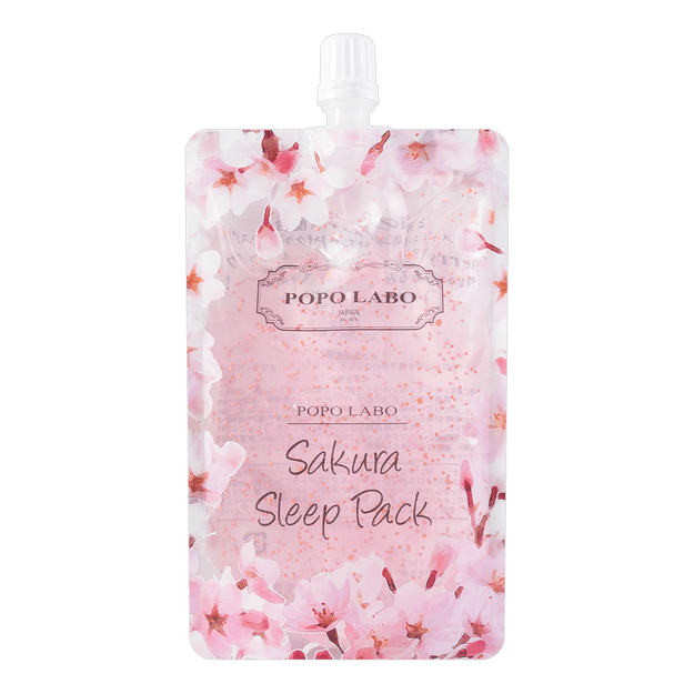 Product Detail - POPO LABO SAKURA Sleeping Pack 120g - image 0
