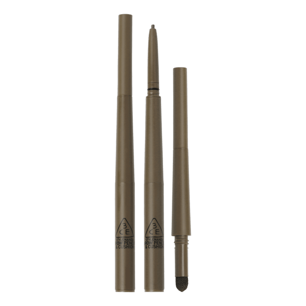 Product Detail - 3ce solid Eyeliner Eyebrow pencil  #Gray brown - image 0