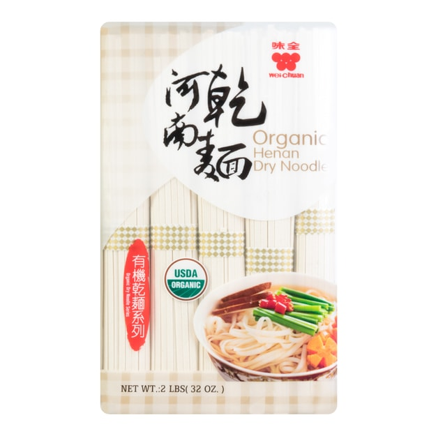 Product Detail - WEI CHUAN Organic Henan Dry Noodle 907g - image 0
