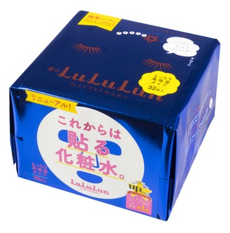 LULULUN High Moisture Facial Mask 32sheets