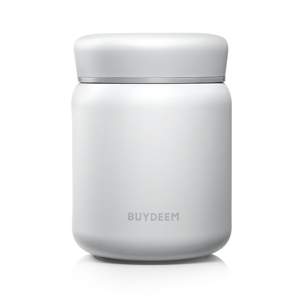 Product Detail - BUYDEEM Vacuum Insulated Stainless Steel thermo food jar white 460ml - image 0