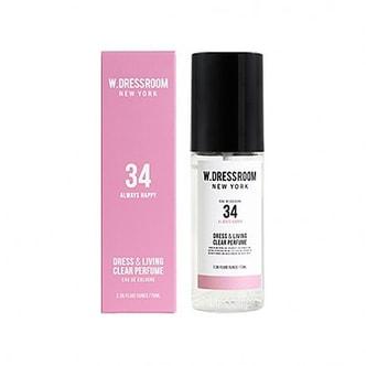 W.DRESSROOM Dress & Living Clear Perfume No.34 (Always Happy) 70ml