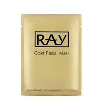 泰国RAY 蚕丝面膜金色淡斑祛痘控油修护 1pcs 范冰冰同款