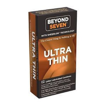 OKAMOTO BEYOND SEVEN Ultra Thin Condom 12 Pack