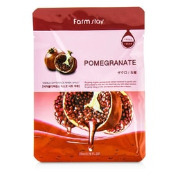 KOREA FARMSTAY Visible Difference Mask Pomegranate 10pcs