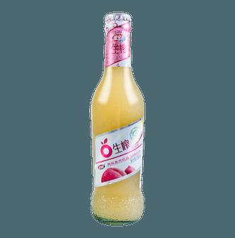 宏宝莱 生榨水蜜桃天然果肉饮品 300ml