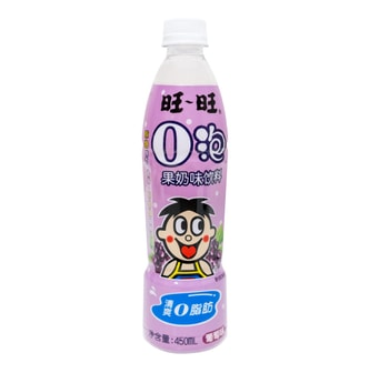 WANT WANT Milk Drink Grape Flavor 450ml