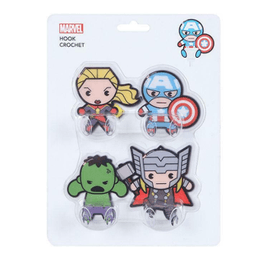 Miniso MARVEL Non-stick Wall Hook #4pcs