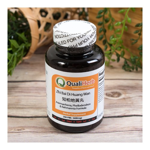 Quali Herb Anemarrhena Phellodendron & Remannia Formula Supplement 200 Pills 600mg