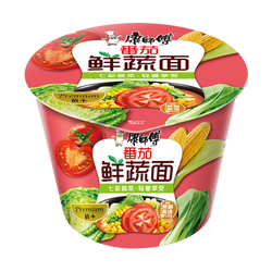 MASTER KONG Tomato Vegetarian Cup Noodles 109g