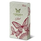 JEX Condoms Glamourous Butterfly Dot  8pcs