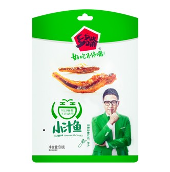 XIANGXIANGZUIFish SnackPickled Pepper Flavor 50g