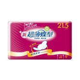 台湾康乃馨 超薄蝶型高透气卫生巾 21.5cm 20片入