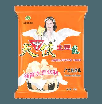 天使 土豆片 广式烧烤味 50g