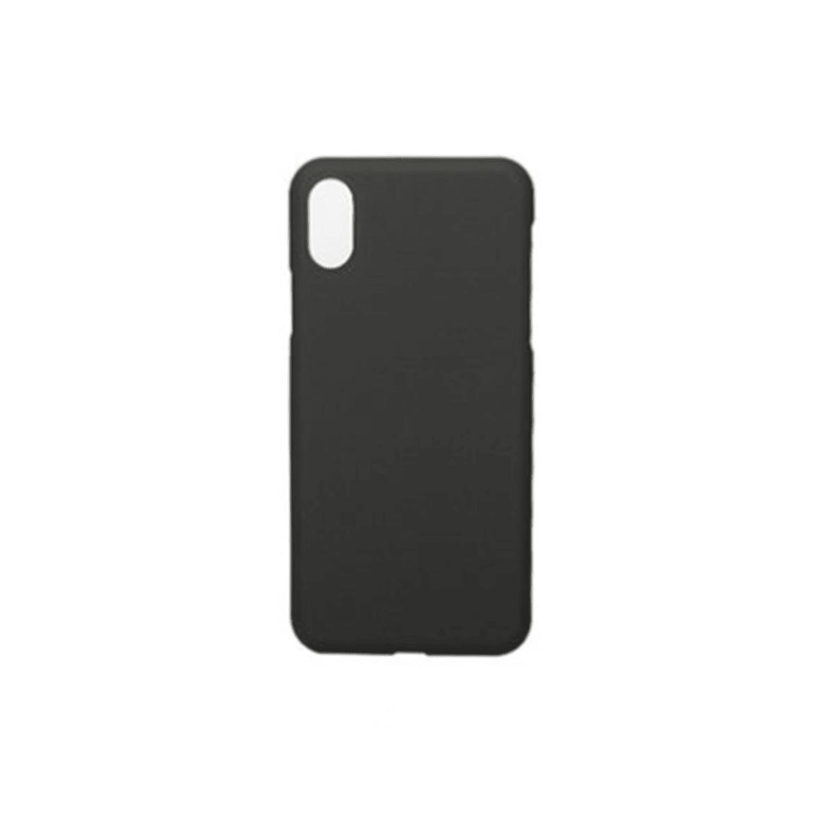 冇心良品(MAOXIN)新款简约纯色可爱超薄全包硅胶防摔 苹果手机壳 适用 iPhoneX  款式  黑影 怎么样 - 亚米网