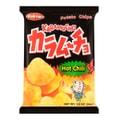 日本KOIKEYA湖池屋 咔辣姆久 平切洋芋片 劲辣唐辛子口味 54g 销量No.1