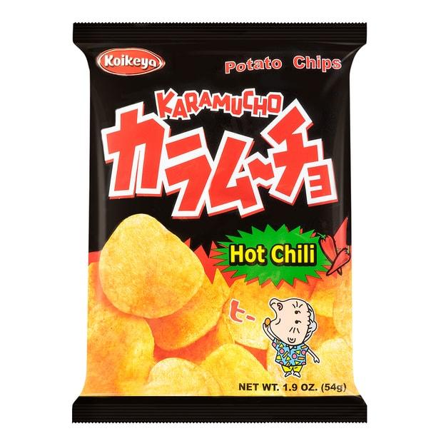 Product Detail - KOIKEYA Potato Chips Spicy Hot Chili 54g - image 0