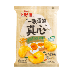OISHI Potato Chips Salted Egg Yolk Flavor 60g