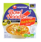 NONGSHIM Bowl Noodles Soup Hot and Spicy Beef Flavor  86g
