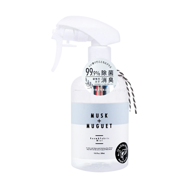 Product Detail - Room Fabric Mist Spray 280ml #Musk+Muguet 1pc - image  0