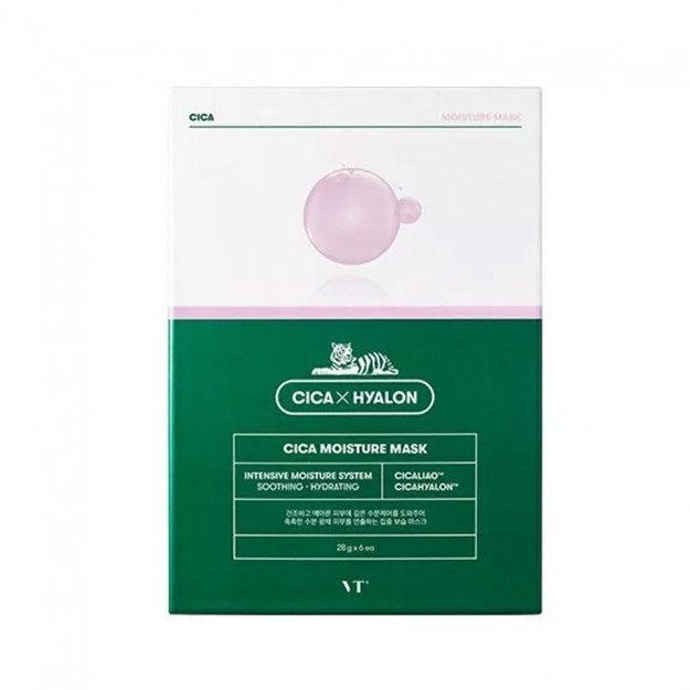 Product Detail - VT COSMETIC Cica Hyalon Moisture Mask 1pcs - image 0
