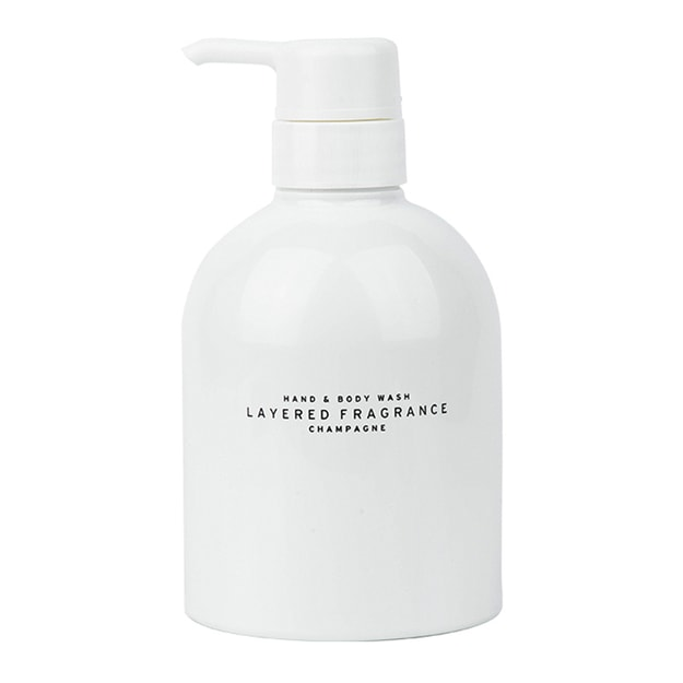 LAYERED FRAGRANCE Ambient Bath Lotion Champagne 500g