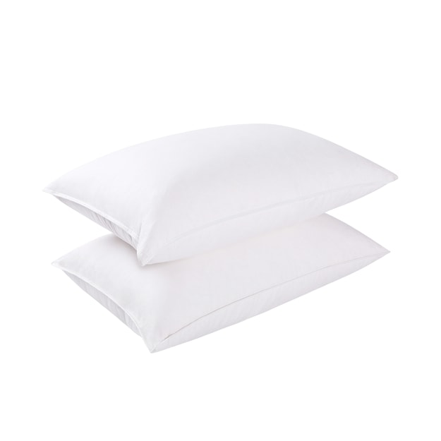 Premium Down Hotel Surround Pillow Goose Down Fill Set of 1 Queen