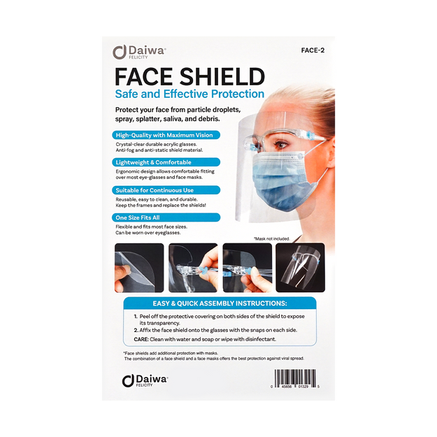 Product Detail - Felicity Sanitary Safety Full Face Shield with Glasses Frames to Protect Eyes Nose Mouth - image  0