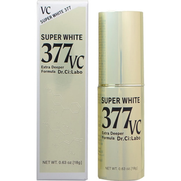 Product Detail - DR. CI:LABO Super White 377 VC Extra Deeper Formula 18g - image 0