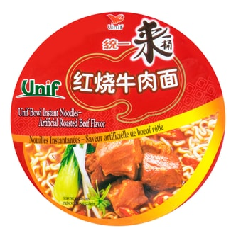 UNIF Bowl Instant Noodles -Spicy Beef Flavor 110g
