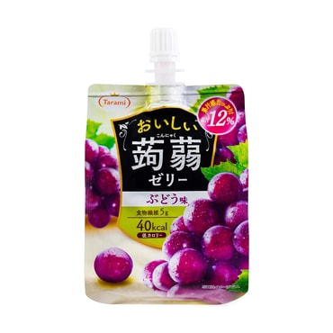 TARAMI Jelly Drink Grape Flavor 150g