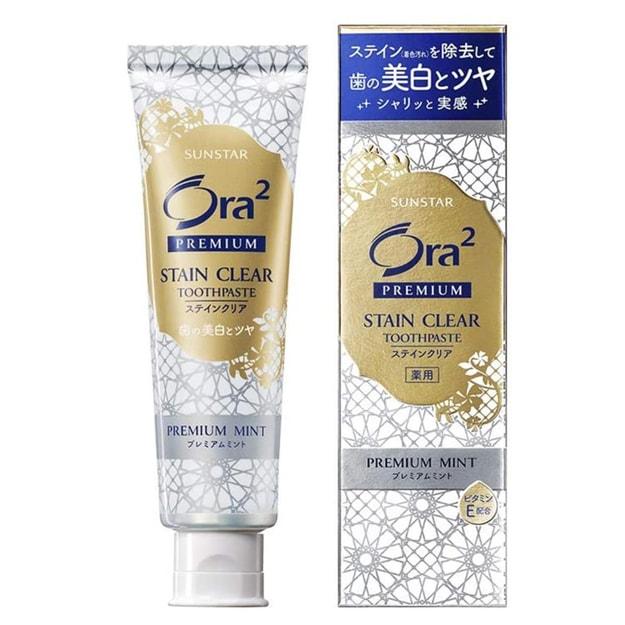 Product Detail - JAPAN ORA2 Premium Stin Clear Paste Premium Mint 100g - image 0