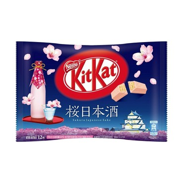 Nestle KitKat Cherry Blossom Sake Chocolate Mini Wafer Cookie 135g