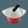 5 QT Ceramic Non Stick Dutch Oven Cookware Stockpot #Red