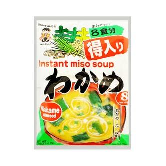 日本神州一味噌Shinsyu-ichi 速冲即食海带味噌汤 8袋入