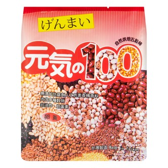 台湾鸿津 元气100 自然烘焙五谷棒 卵黄味 185g