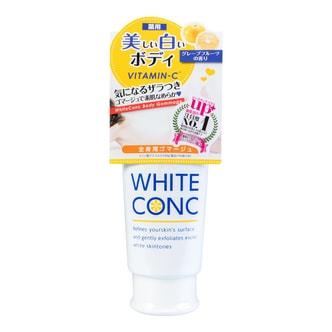 日本WHITE CONC 维C药用全身美白身体磨砂膏 #葡萄柚香 180g
