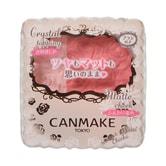 日本CANMAKE 花瓣浮雕哑光珠光组合双色腮红 #03草莓粉