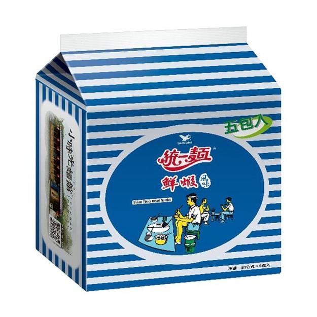 商品详情 - [台湾直邮] 统一 鲜虾面 5枚入(最后出货日为1/31、2/17起正常营运) - image  0