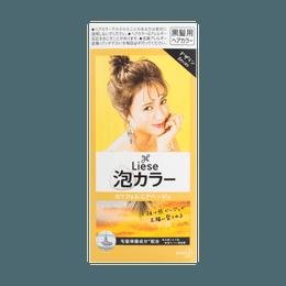 日本KAO花王 LIESE PRETTIA 泡沫染发剂 #加利福尼亚米色 单组入