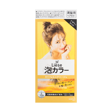 LIESE PRETTIA Bubble Hair Dye Milky California Beige 1set