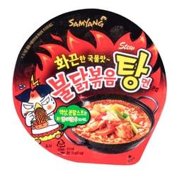 韩国 SAMYANG三养 韩版超辣汤面 鸡肉味 碗装 120g