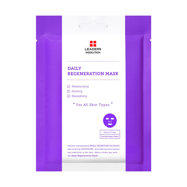 Product Detail - LEADERS INSOLUTION Daily Regeneration Mask 1 Sheet - image 0