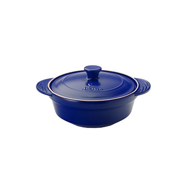 Product Detail - AROMA 2.5 Qt Doveware Stew Pot, Cobalt Blue ADC-101BL (5 Year Manufacturer Warranty) - image 0