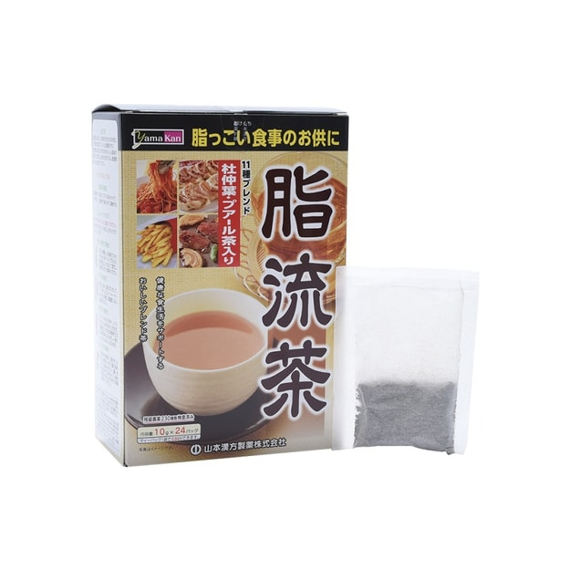 Product Detail - YAMAMOTO KANPO Defatted Tea 10g x 24 bags - image 0