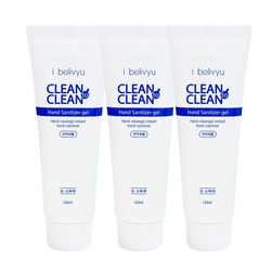 [3pcs Combo] Korea i belivyu Clean to Clean Hand Sanitizer Gel Contains Alcohol 120ml x3
