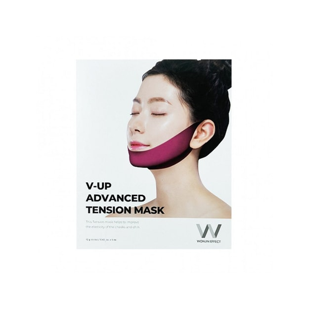 Product Detail - WONJIN EFFECT V-Up Advanced Tension Mask 1pcs - image 0
