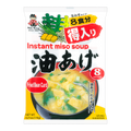 【Clearance】SHINSYU-ICHI Instant Miso Soup Fried Oiled Tofu Flavor 8bags