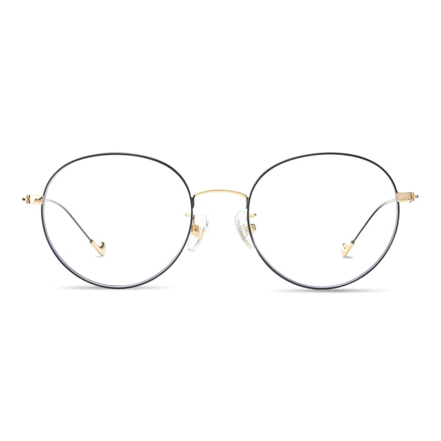 Product Detail - DUALENS  Digital Protection Eyeglasses: Black/Gold (DL72123 C2) - Lens Included - image 0